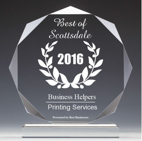 Scottsdale 2016 Printing Services Best Business